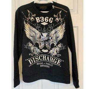 Diesel Black gold sweater size xs